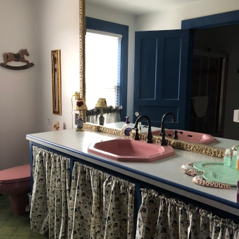 shared bathroom with room 1